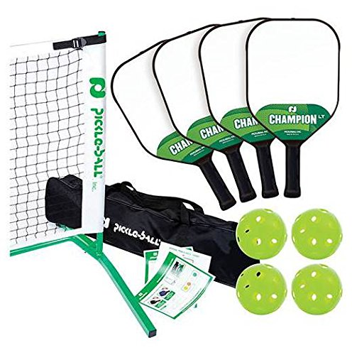 Pickle-Ball 6-Pc 3.0 Tournament Net and Frame Set