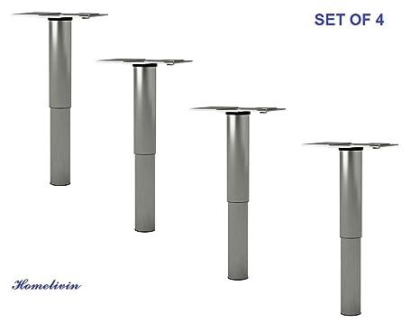 Nuevo Ikea GODMORGON ajustable patas de acero inoxidable - 5 ...
