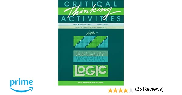 Amazon.com: Critical Thinking Activities in Patterns, Imagery ...