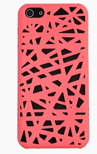 Newstore Bird Nest Rear Hard Skin Protector Case Cover For Apple iPhone 5C (Hot Pink)