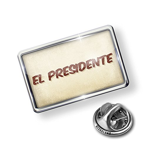hot sell Pin El Presidente Cocktail, Vintage style - Lapel Badge - NEONBLOND