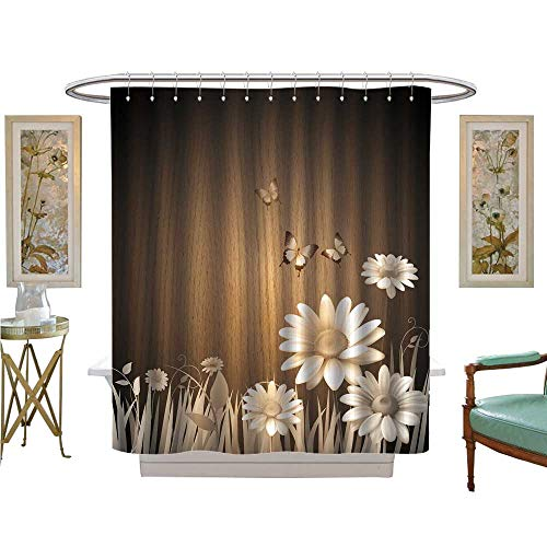luvoluxhome Shower Curtains Sets Bathroom Antique Old for sale  Delivered anywhere in USA