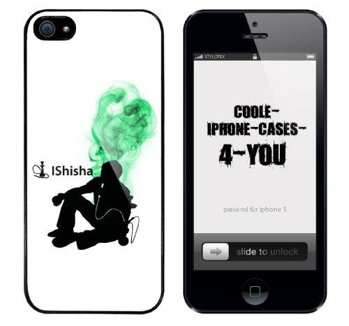 Iphone 5 Case IShisha Rahmen schwarz