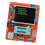 Dovewill Multifunctional LCD GM328 Transistor Tester Diode Capacitance ESR Voltage Frequency Meter PWM Square Wave Signal Generator