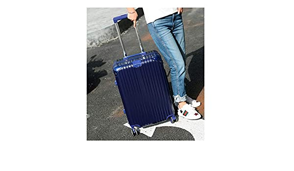 22 inches Best Gift Carrying Luggage Travel Organizer Black Color : Silver, Size : 28 Bahaowenjuguan Hard Rotating Luggage Trolley case