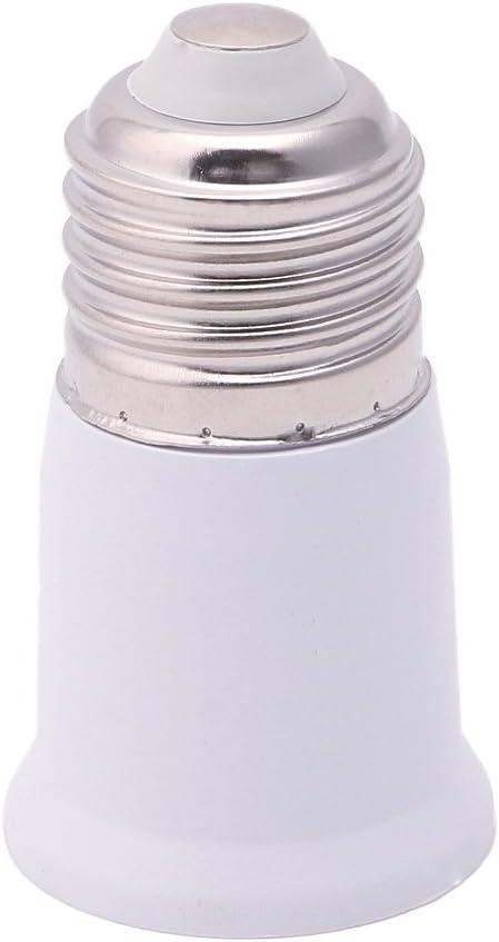 Xuniu 165 mm E27 a E27 Base de extensi/ón Base Adaptador Adaptador de convertidor de Bombilla