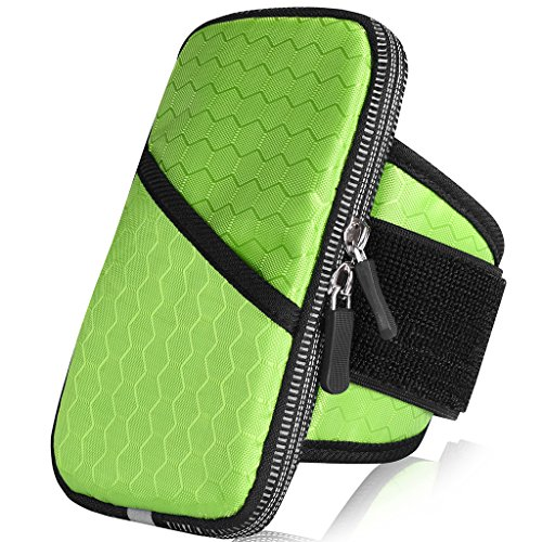 Outdoor Sport Running Gym Nylon Zipper Armband Case Pouch For iPhone