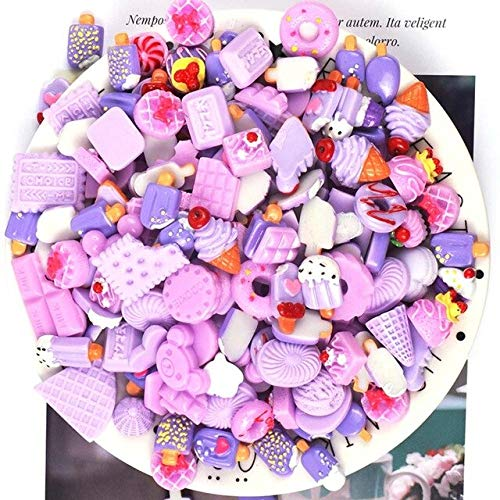 Slime charms 10pcs Cake Charms Slime Supplies Soft Clay Kit Accessories Decoration Addition for Plasticine Toys 2