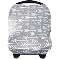 Yoofoss Nursing Breastfeeding Cover Scarf Baby (Car Seat Canopy Cover Shopping Cart)