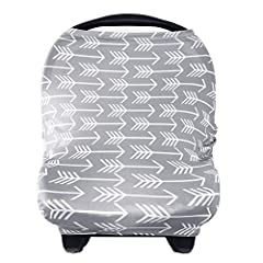 360° Protection Baby Car Seat CoversVersatile Used ❤ Nursing Cover ❤ Breastfeeding Cover ❤Baby Seat Cover ❤Carseat Scarf ❤ Car Seat Cover ❤ Car Seat Canopy ❤ Nursing Scarf ❤ Shopping Cart Cover ❤ Stroller Cover  ❤High Chair Cover  ❤ Changing ...