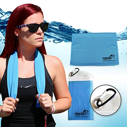 Furious Fitwear Cooling Towel Basketball product image