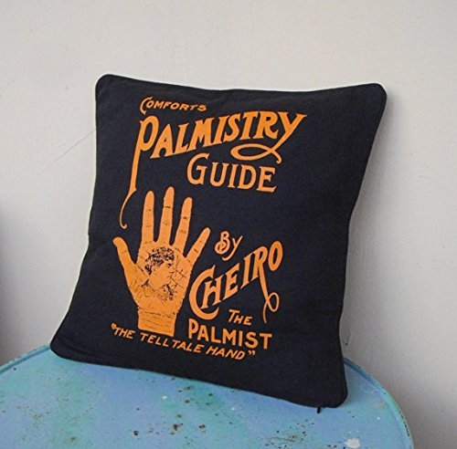 Rent Disney Costumes (black and orange 16 inches palm reading throw pillow cover Obscure Fate - bohemian decor, palmistry reading, unique,gifts for her,chiromancy)