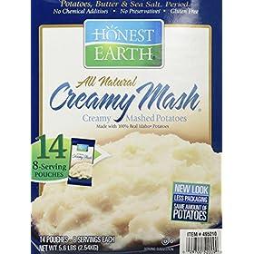 Idahoan Honest Earth Creamy Mash, 5.6 Pound