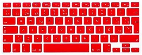 Funda Protector para teclado QWERTY (España) (Intro EU) Silicona para Apple MacBook 12
