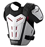 EVS Sports REVO 5 Roost Guard (White, Large/X-Large)