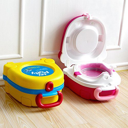 Lopkey Home Cartoon Children Potty Seat Traveling Car