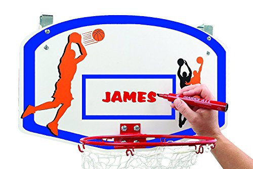 Etna Basketball Hoop Laundry/Clothes Hamper Game for Kids - Hooks Over The Door, Helps Make Dirty Clothes Fun, Can Be Personalized - Perfect For Boys and Girls Bedrooms - Shoot It, Dunk It, Wash It