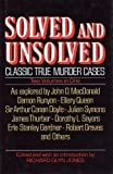 Solved and Unsolved, Richard G. Jones, 0517037556
