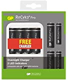 8 x AA Rechargeable ReCyko+ Batteries 2000mAh & 4 x AAA Rechargeable ReCyko+ 800mAh Battery with ** FREE ** Mains Charger | Great Value pack by GP Batteries | Great Quality Rechargeable Battery Pack