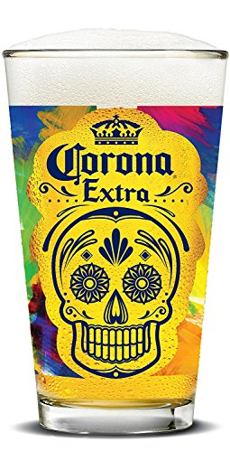 Corona Extra Day of the Dead Skull Pubs (Set of 4)