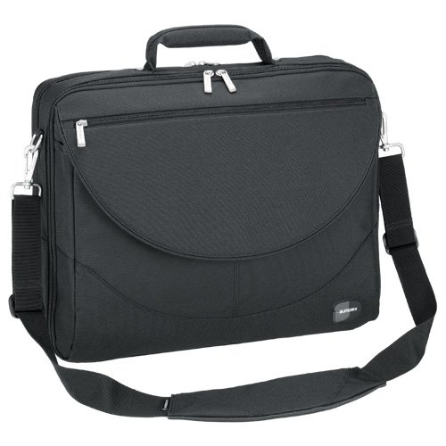 (Sumdex Large Expandable Computer Brief for 17.3-Inch Notebooks (PON-303BK))
