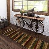 American Rug Craftsmen Tan New Wave Mayan Sunset