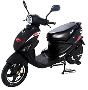 GIO Italia 500w Electric Scooter - Automatic Ebike (Black)