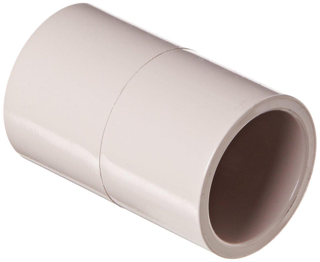Schedule 40 Coupling UltraViolet Resistant 1//2 Socket Spears 429-UV Series PVC Pipe Fitting