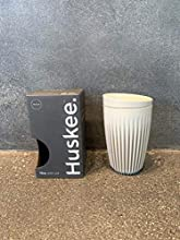 Huskee Cup + Lid Natural (12oz)