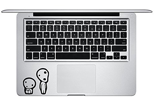 Kodama Tree Spirits on Keyboard Trackpad Princess Mononoke S