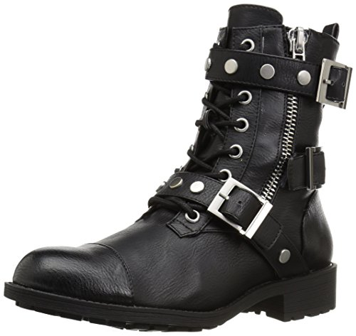 Style by Charles David Women's Caden Motorcycle Boot, Black, 7.5 Medium US by Style by Charles David