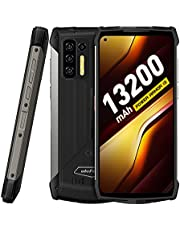 """Rugged Smartphone , 13200mAh Large Battery, Ulefone Power Armor 13 8GB + 256GB Android 11, FHD+ 6.81"""", Octa-core G95, 48MP Quad Camera, NFC OTG, 33W Fast Charge, Wireless Reverse Charging, IP68 Waterproof Unlocked Cell Phone Canada"""