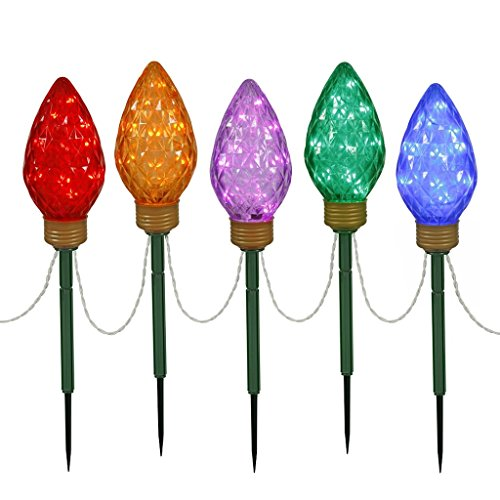 C9 Led Christmas Light Stakes