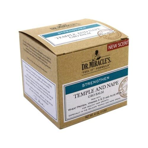 New Dr. Miracles Strengthen Temple & Nape Gro Balm 4 oz. (Pack of 6) hot sale