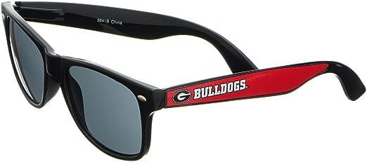 Georgia Bulldogs Black Plastic Frame Classic Sunglasses with Logo