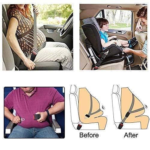 Extensor de cintur/ón de seguridad Extensor de cintur/ón 2pcs ❤ 丨 Extensores de cintur/ón de seguridad c/ómodos ❤ 丨 Hebilla del cintur/ón de seguridad ❤ 丨 para hombres obesos Mujeres embarazadas Asientos