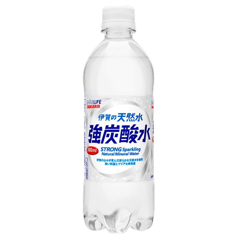 サンガリア伊賀の天然水 強炭酸水