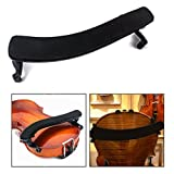 OFKP Violin Cento, Violin Sponge Shoulder Rest Pad Adjustable Design Padded for 3/4 4/4 Violin - Black