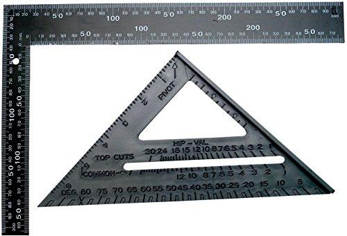 Performance Tool 1477 Square Speed Carpenter Framing Measuring Tool Set