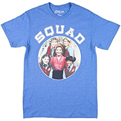 The Facts of Life Squad Mens Tee in Heather Blue