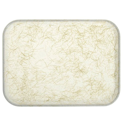 (Cambro 1418526 Antique Parchment Gold 14 x 18 Rectangle CamTray)