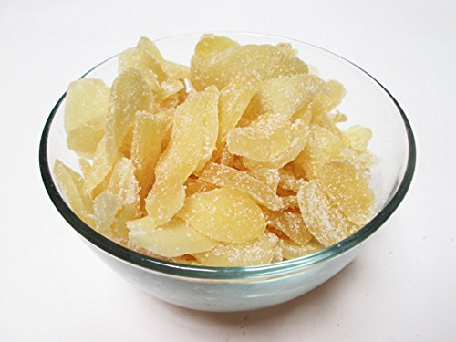 Crystallized Candied Ginger Slices, 5 pound Bulk bag by CandyMax