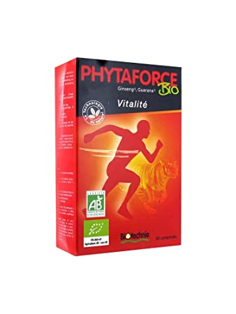 Amazon.com: biotechnie phytaforce Vitalidad 60 tabletas ...