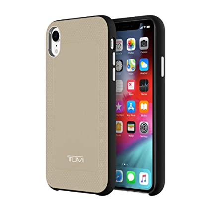 new concept f2ac5 b811e TUMI Premium Protective Hardshell Case for iPhone XR: Amazon.in ...