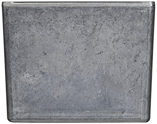 BUD Industries CU-4475 Die Cast Aluminum Econobox with Mounting Bracket, 4-3/4'' Length x 4-3/4'' Width x 3-3/4'' Height, Natural Finish by BUD Industries