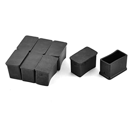Merveilleux Amazon.com: Antrader Rectangle Shaped Furniture Rubber Feet Pads Table  Chair Leg Foot End Caps Covers Protectors Black,Pack Of 12 (15x30mm):  Kitchen U0026 ...