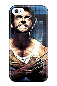 New Style 6699086K46110101 For Iphone 4/4s Premium Tpu Case Cover X-men Protective Case