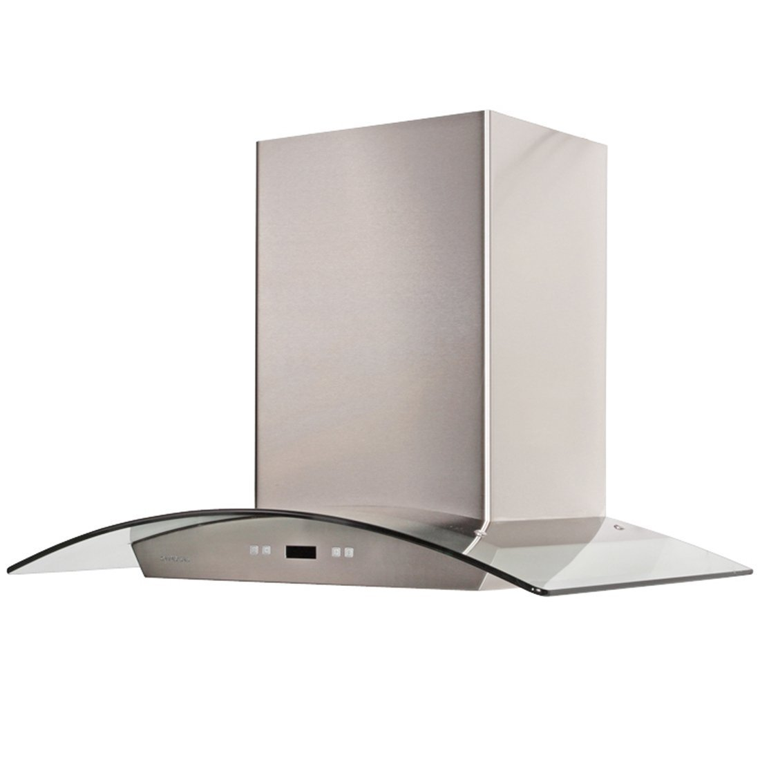 CAVALIERE 36'' Wall Mounted Stainless Steel / Glass Kitchen Range Hood 900 CFM SV218D-36