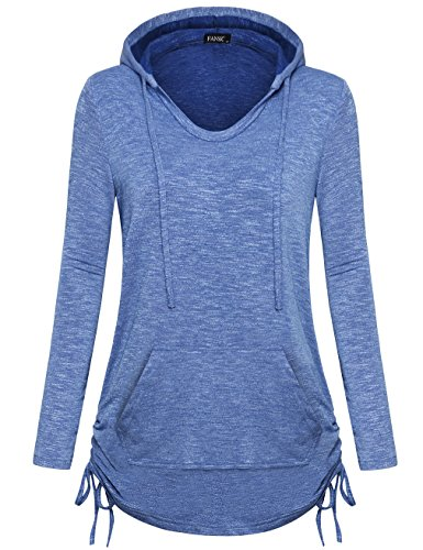 Novelty Hoodies for Women, FANSIC Women's Active Long Sleeve