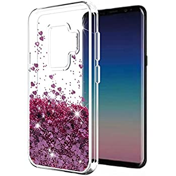 Amazon.com: Cistor Glitter Liquid Case for Galaxy A7 2018 ...